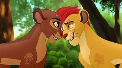 Kion Rani Lion Guard King Queen Roi