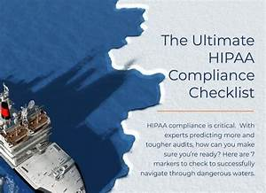 The Ultimate Hipaa Compliance Checklist