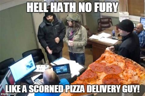 Pizza Delivery Meme - in light of f r auto s recent action imgflip