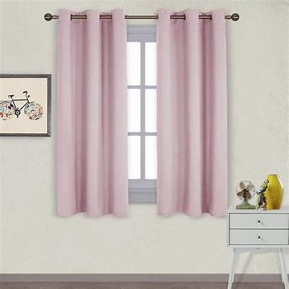 Curtains Blackout Grommet Insulated Thermal Drapes Nicetown