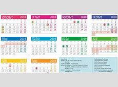 Calendario escolar 20182019 en Castilla y León Escuelas