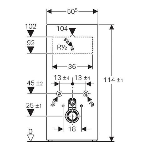 geberit monolith montageanleitung geberit monolith sanit 228 rmodul f 252 r wand wc 2 mengen sp 252 lung 10 6 x 50 5 x 114 cm wei 223 4056