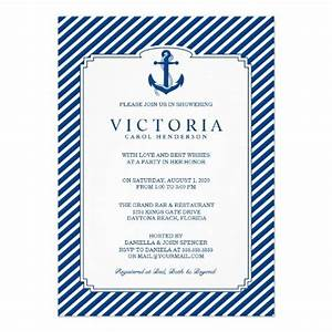 119 best nautical bridal shower ideas images on pinterest With vistaprint nautical wedding invitations