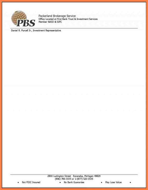 company letter head template company letterhead