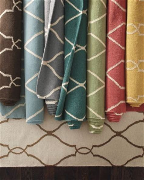 garnet hill rugs bogart flat weave wool rug contemporary rugs by