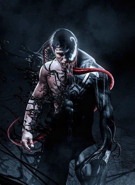 Venom Potente Fanart Con El Emblemático Personaje