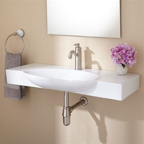 Wall Mount Sink by Hiott Wall Mount Bathroom Sink Bathroom Sinks Bathroom