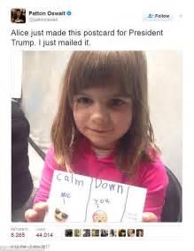 patton oswalt comedian patton oswalt s daughter sends message to donald trump