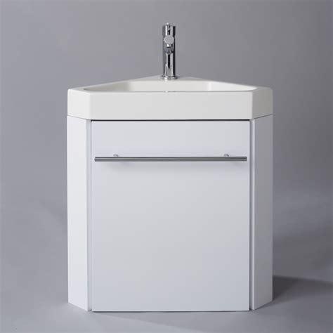 lave d angle suspendu avec meuble blanc pas cher planetebain