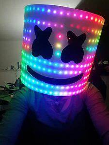LED DJ Mask