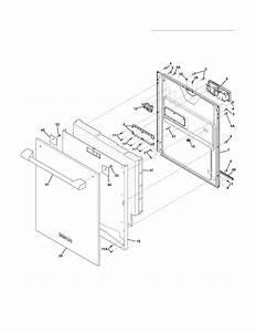 Electrolux Model Edw7505hps1b Dishwasher Genuine Parts