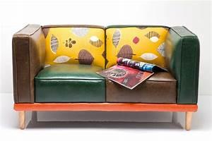 canape original en cuir colore With canapé original