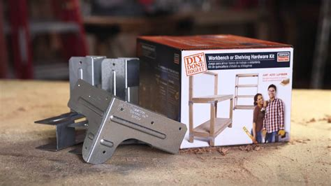 simpson strong tie diy workbench promo youtube