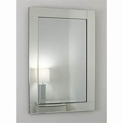 Mirror Framed Glass Silver Blenheim Mirrors Rectangular