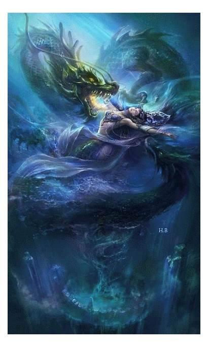 Fantasy Dragon Dragons Dark Artwork Google Mythical