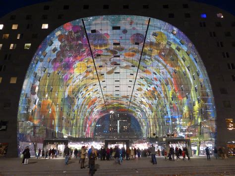 gorgeous  colorful vaulted murals  rotterdams