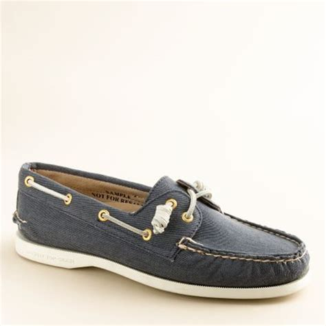 J Crew Boat Shoes by J Crew Sperry Top Sider 174 Authentic Original 2 Eye Boat