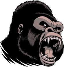 Resultado de imagem para gorila desenho Esboços de