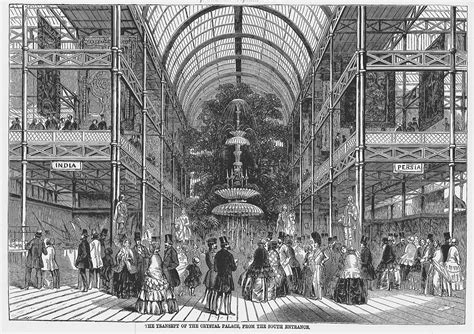 The Interior of the Crystal Palace (Fountain, Seen from ...