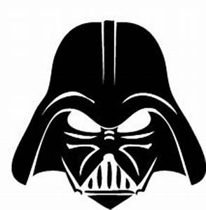 Darth Vader stencil | Z- Star Wars | Pinterest