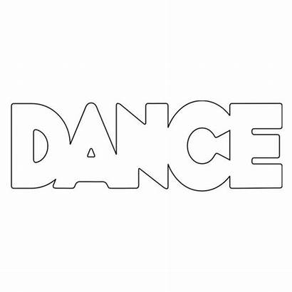 Dance Word Coloring Sheets Dancer Pages Colouring