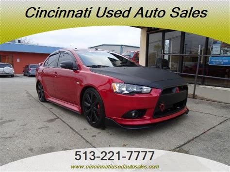 Cincinnati Mitsubishi by 2015 Mitsubishi Lancer Gt For Sale In Cincinnati Oh