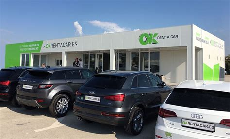 Nueva Oficina De Ok Rent A Car En Alicante