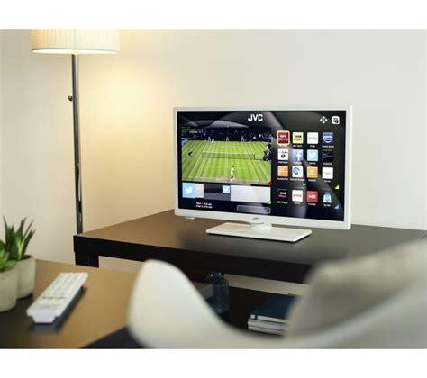 "Buy JVC LT 24C661 Smart 24"" LED TV   White   Free Delivery"