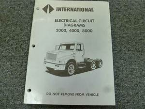 1993 International 2554 2574 2654 2674 Truck Electrical