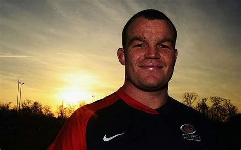 Saracens' Matt Stevens Greeted By Doping Testers On His