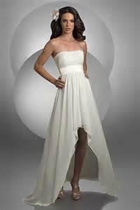 destination wedding dresses bari high low strapless destination wedding dress 2022 novelty