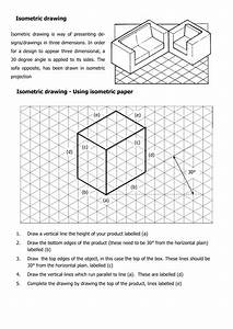 47  Pdf  Isometric Drawing Worksheet Tes Printable