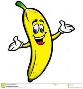 Cartoon Banana Clip Art