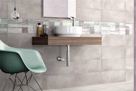 Double Fired Wall Tiles Light Grey Ba 3002 20x45