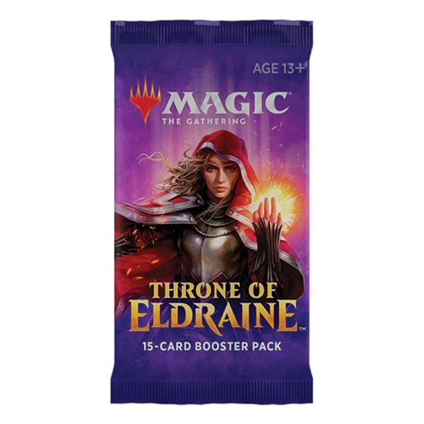 Whether players are fans of magic's standard format. Magic: The Gathering Throne of Eldraine 15-Card Draft Booster Pack