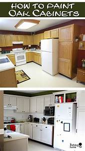 kitchen update painting oak cabinets 2168