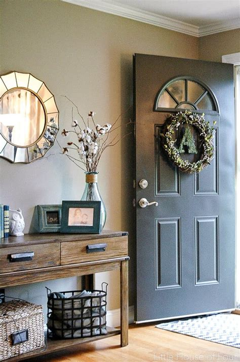 How To Decorate A Foyer Door — Stabbedinback Foyer How