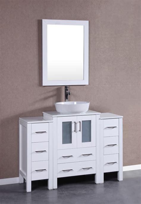 bosconi        bath vanity  white