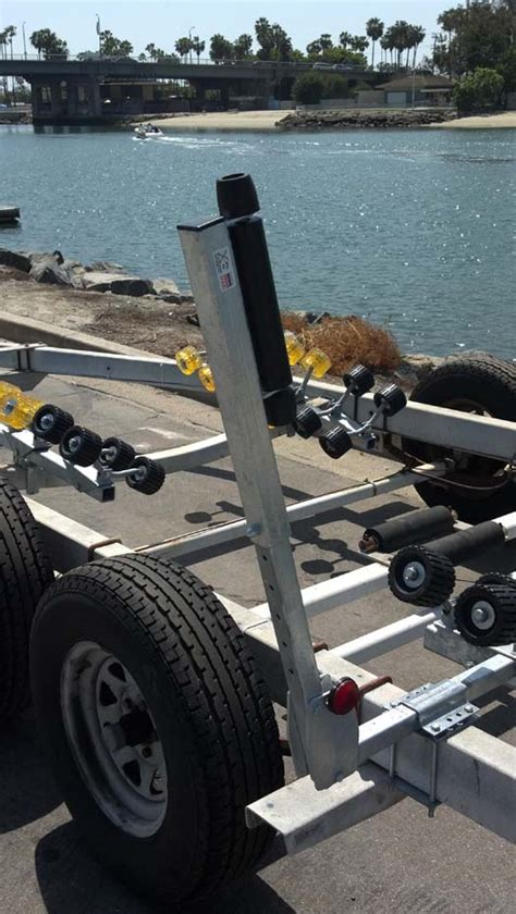 Boat Trailer Guide Ons by Boat Trailer Guides Roller Guide Ons Adjustable Ve Ve