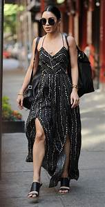 Vanessa Hudgens Style - Leaving Her Apartment in SoHo ...