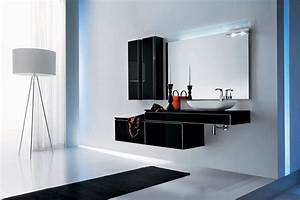 Modern black bathroom furniture onyx by stemik living for Bathroom furniture