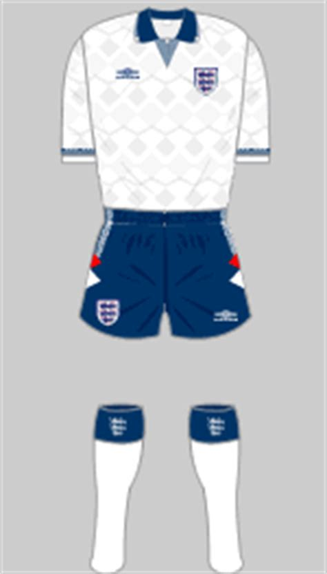 England National Team 1984-1996 - Historical Football Kits