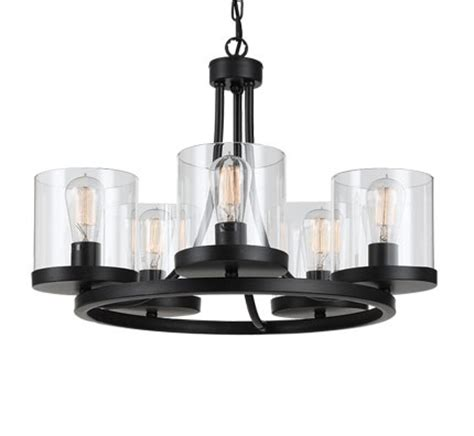 largo 5 light modern pendant from telbix australia
