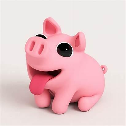 Pig Wallpapers Piggy Pigs Cartoon Christmas Miss