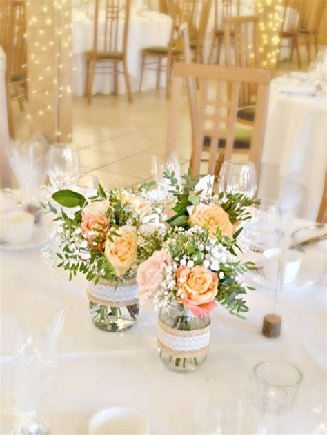 rustic orange  peach wedding flowers  cake
