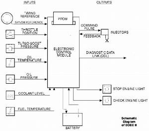 Detroit Diesel Ddec I  Ii  Iii  And Iv Schematics