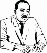 Coloring Luther Martin King Jr Pages Dr Printable Drawing Sheets Silhouette Mlk Cartoon Sheet Children Getcolorings Getdrawings Clipartmag Popular Colorings sketch template