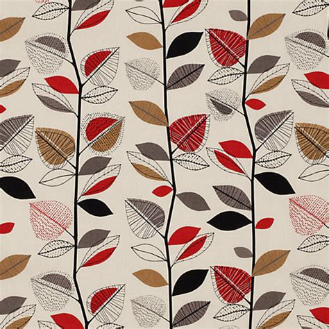 buy autumn leaves furnishing fabric john lewis