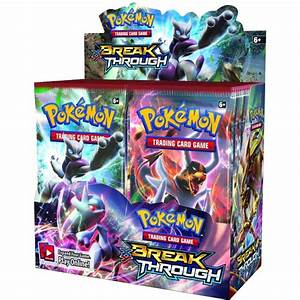 pokemon xy8 break through trading card booster box 36 booster packs
