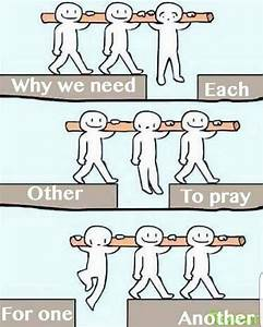Credit to @arise__and__shine We need each other to pray ...